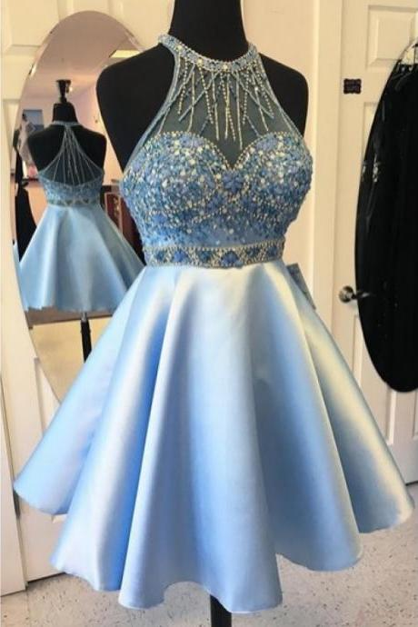 Beading Homecoming Dresses,Short Prom Dresses,Cocktail Dress,Homecoming Dress,Graduation Dress,Party Dress,Short Homecoming Dress Z120