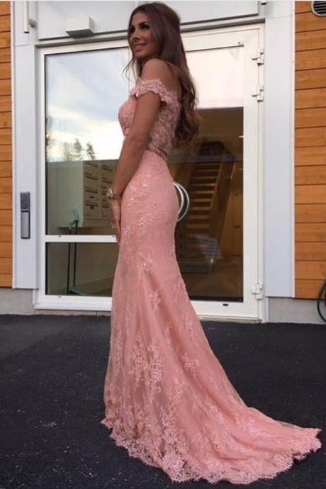 Mermaid Lace Prom Dress,Long Prom Dresses,Prom Dresses,Evening Dress, Evening Dresses,Prom Gowns, Formal Women Dress,prom dress,Z192
