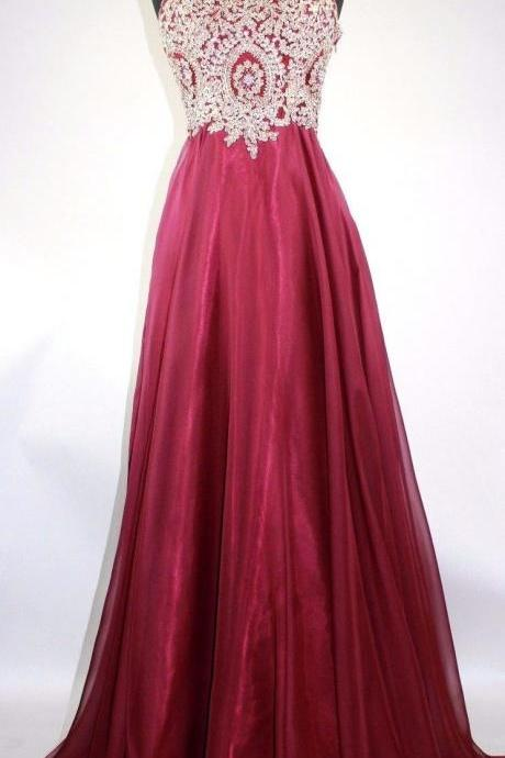 Sweetheart Burgundy Embroidery Rhinestones beaded Prom Dress,Long Evening Dress,Evening Dress,Sweet 16 Dress,Long Prom Dresses,Prom Dresses Z335