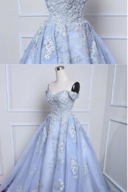 Ball Gown Prom Dresses,Off the Shoulder Fancy Dresses,Prom Dress,Prom Dresses,Long Prom Dress Z465
