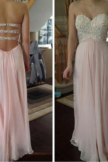 Sweetheart Beading Prom Dress,Long Prom Dresses,Cheap Prom Dresses,Evening Dress Prom Gowns, Formal Women Dress,prom dress,F71