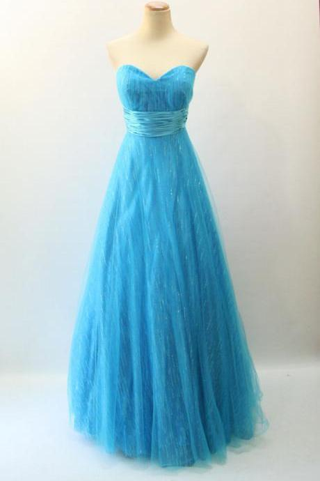 Sky Blue Prom Dress,Long Prom Dresses,Charming Prom Dresses,Evening Dress, Prom Gowns, Formal Women Dress,prom dress,F237